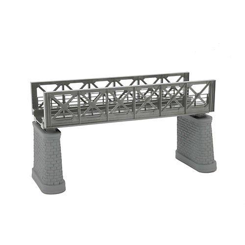 MTH MTH801043 HO KIT Girder Bridge, Silver
