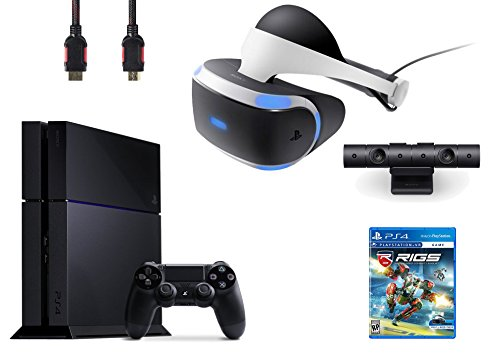 PlayStation-VR-Bundle-4-ItemsVR-HeadsetPlaystation-CameraPlayStation-4VR-Game-Disc-RIGS-Mechanized-Combat-League