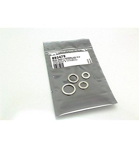 Pack 4 rondelles joint de vidange BIHR alu M8//M10//M12//M14