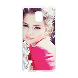 C-EUR Customized Print Selena Gomez Hard Skin Case Compatible For Samsung Galaxy Note 4