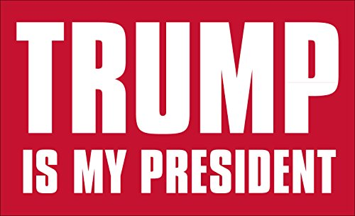 Trump Is My President Sticker (pro Donald Bumper)
