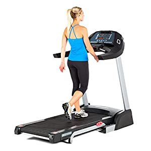 3G Cardio Pro Runner Treadmill, Silver, Pro-Foldable