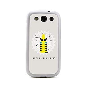 New - The Wolverine Super Hero Super Soda Pops Embossed Design White Bumper Plastic+TPU Case Cover for Samsung Galaxy S3 SIII I9300