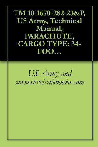 TM 10-1670-282-23&P, US Army, Technical Manual, PARACHUTE, CARGO TYPE: 34-FOOT DIAMETER, MODEL G-14 LOW-VELOCITY CARGO PARACHUTE, NSN 1670-00-999-2658, 1991