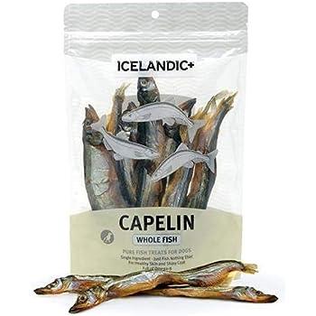 Amazon.com : Icelandic+ Capelin Whole Fish Dog Treat 2.5