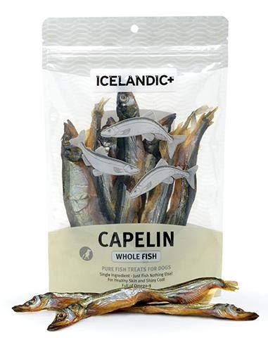 Icelandic+ Capelin Whole Fish Dog Treat 2.5-oz Bag For Sale