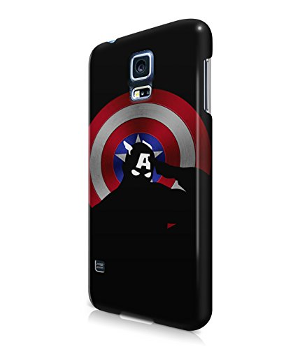 Captain America The Avenger Winter Solider Grunge Plastic Snap-On Case Cover Shell For Samsung Galaxy S5