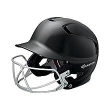 Easton Senior Z5 Batters Helmet with BBSB Mask, Black