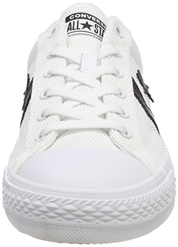 Converse Unisex Adults' Star Player Ox Trainers, White Black White White (White/Black/White 102)