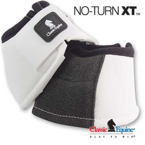 Classic Equine No Turn Horse Bell Boot w Kevlar ()