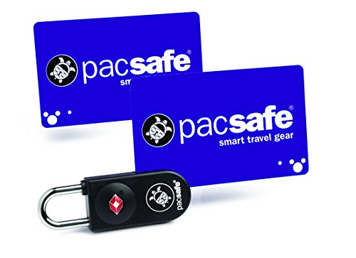 Pacsafe Prosafe 750 TSA Accepted Key-Card Lock-Black-1pc