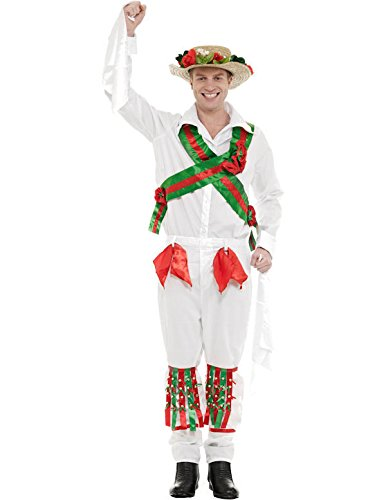 morris dancer fancy dress costume - 1