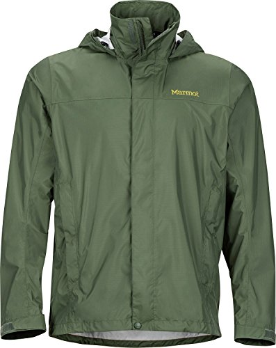 Marmot Men's PreCip Jacket Crocodile (Ripstop Nylon Jacket)