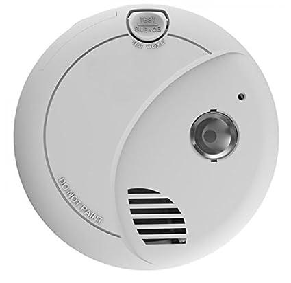 angeleye batería Pilas Detector de Humo con luz de Emergencia para aplicación en Privado hogar áreas