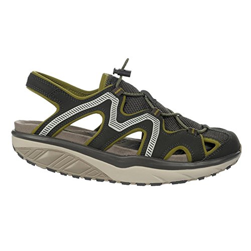 MBT Jefar 6 trail sandal pvmt gry Herren Sandale oliv grau