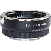 FOTOMIX Fringer EF-FX PRO Version Auto Focus Mount Adapter Built-in Electronic Aperture for Canon EF EOS Tamron Sigma Lens to Fujifilm FX Mirroless Camera X-E3 XT20 X-Pro2 X-T2 X-A X-E1 X-M1 XT1 XPRO2
