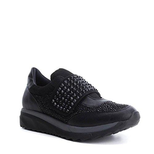XTI 047416, Zapatillas Para Mujer Negro