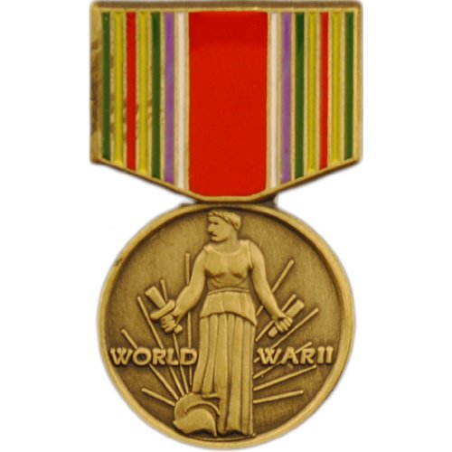 World War II Victory Pin Medal US Veteran Military Commemorative Collectibles