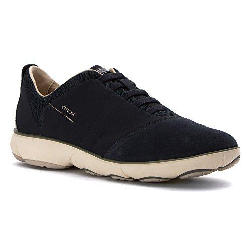 Geox Women's Wnebula9 Fashion Sneaker, Navy, 38 EU/8 M US