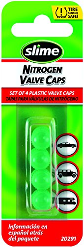 - Slime 20291 Green Plastic Valve Caps