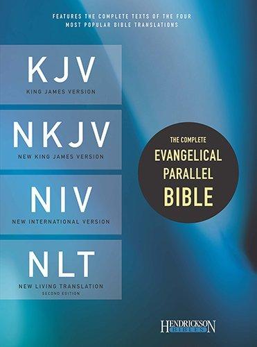 Complete Evangelical Parallel Bible-PR-KJV/NKJV/NIV/NLT (Lea) [Leather Bound]