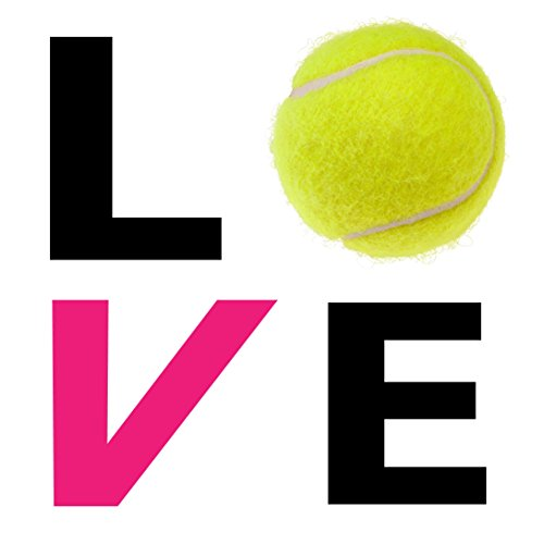Love Tennis Car Decal Perfect