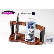 12 Pack Universal Fountain Pen Cartridges - Midnight Blues