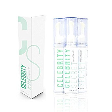 - Celebrity Secret Topical Face Lift-Instant Face Lift Serum-Eye Lift-Tighten Skin-Face Lift-Face Cream-Wrinkle Filler-Winkle Creams-Younger, Healthier Complexion-Works in Minutes!(10ML)(1Bottle)