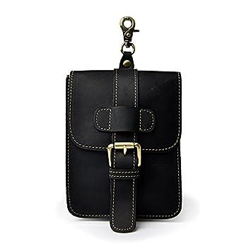 Meoaeo Vintage Auténtico Cuero Natural En La Cintura Para ...