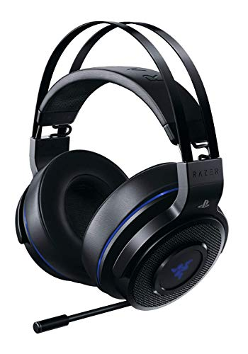Razer Thresher 7.1: Dolby 7.1 Surround Sound - Lag-Free Wireless Connection - Retractable Digital Microphone - Gaming Headset Works with PC & PS4