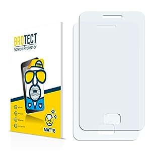 2x BROTECT Matte Protector Pantalla para Samsung Star 3 S5220 Protector Mate, Película Antireflejos