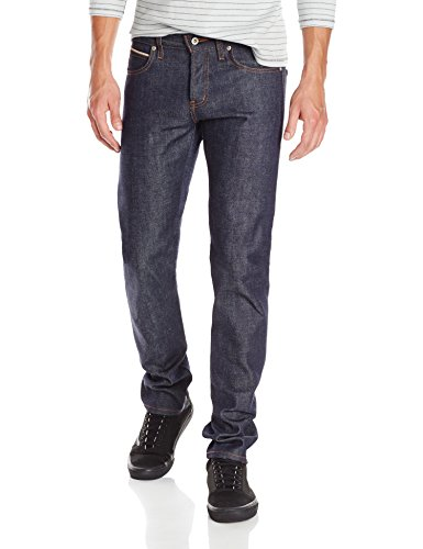 Naked & Famous Denim Men's Super Skinny Guy Jean, Dirty Fade Selvedge, 30 (Best Super Skinny Jeans For Guys)