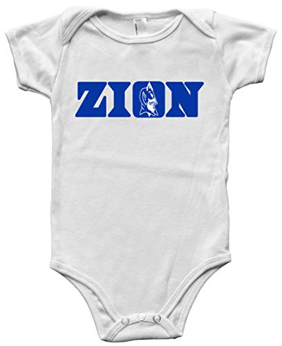 White Duke Zion Logo Baby 1 Piece