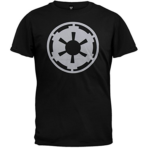 Star Wars Galactic Empire Gray Imperial Logo Stormtrooper Me