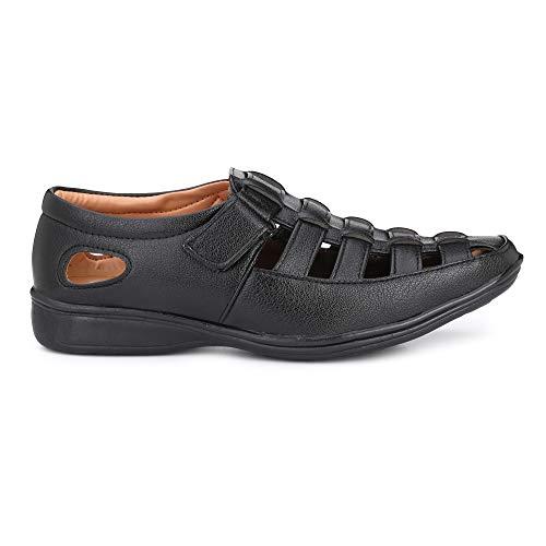 41MZrPFNpPL. SS500  - Amico Fine Leather Men's Sandals