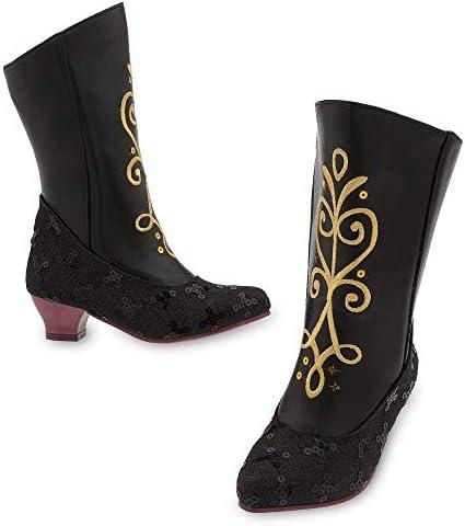 Disney Anna Costume Boots Black product image