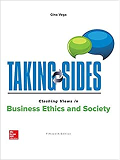 Amazon. Com: taking sides: clashing views in business ethics and.