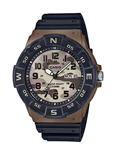 CASIO Mens Analogue Quartz Watch with Resin Strap ()