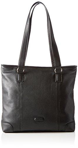 Bodenschatz Damen Shopper Schwarz (Black 001)