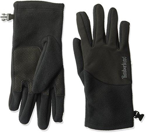 Timberland Men's Fleece Power Stretch Glove With Touchscreen Technology, black, (Power Stretch Fleece)
