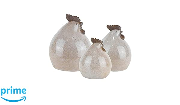 Benzara BM179343 Ceramic Pineapple Figurine Silver