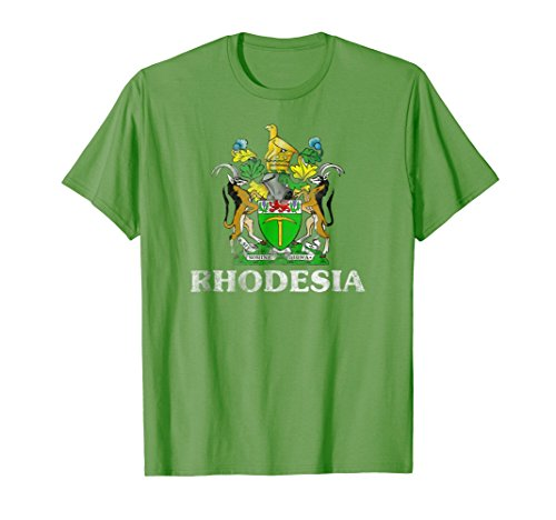 Vintage Rhodesia Coat Of Arms T-Shirt -