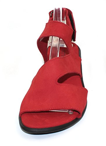 Arche Mujeres Saossy En Nubuck Feu - Rojo Brillante - Talla 37 M