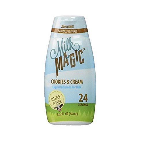oring Liquid Infusions 48 Servings Assorted Flavors (Cookies-n-Cream, 2 Pack) (Milk Flavor)