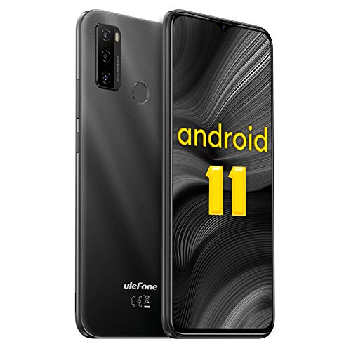 Ulefone Note 10 - Smartphone Libre Android 11 Octa-Core Teléfono Móvil 4G, Pantalla 6,52 HD+, Batería 5500mAh, 2GB + 32GB (SD 128GB) Dual SIM Moviles Libres Baratos, Cámara Triple 8MP con IA, Face ID a buen precio
