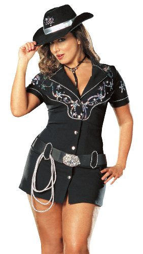 Rhinestone Cowgirl Adult Costume - Plus Size 1X/2X