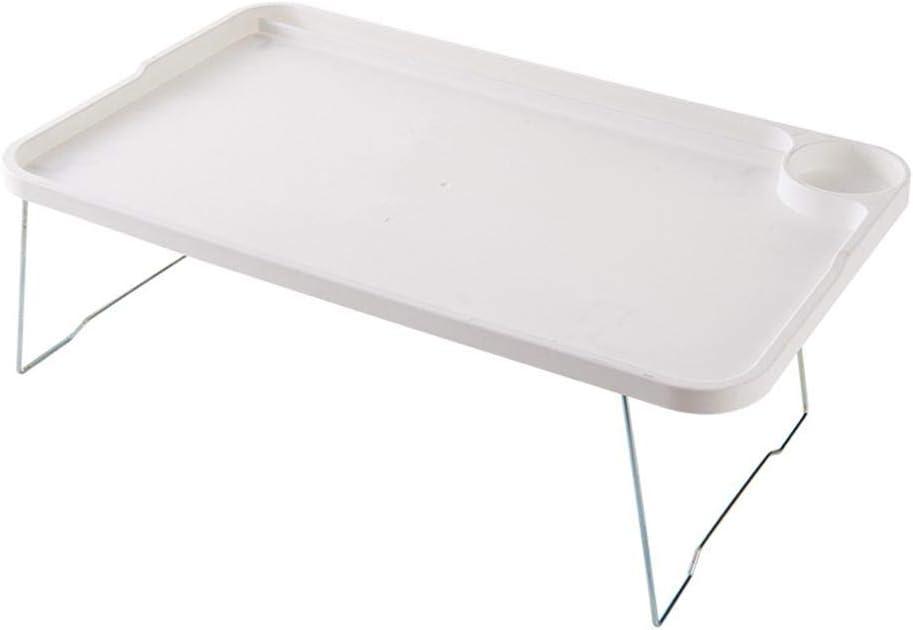 Plateau de lit Pliable Blanc en Plastique