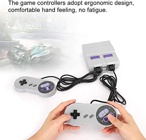 Jimdary Game Controller, mit 100 Spielen mit Speicherkartensteckplatz Gamepad Mini Game Console, für TV, Home,