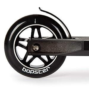 Bopster Trottinette Sportive Freestyle Stunt légère Rotation 360 degrés à Guidon Large