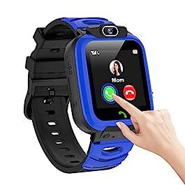 Kids Smart Watch Boys SOS Calling Timer Video Selfie Camera Smartwatch Toddler Touch Screen Games Alarm Music 1GB SD…